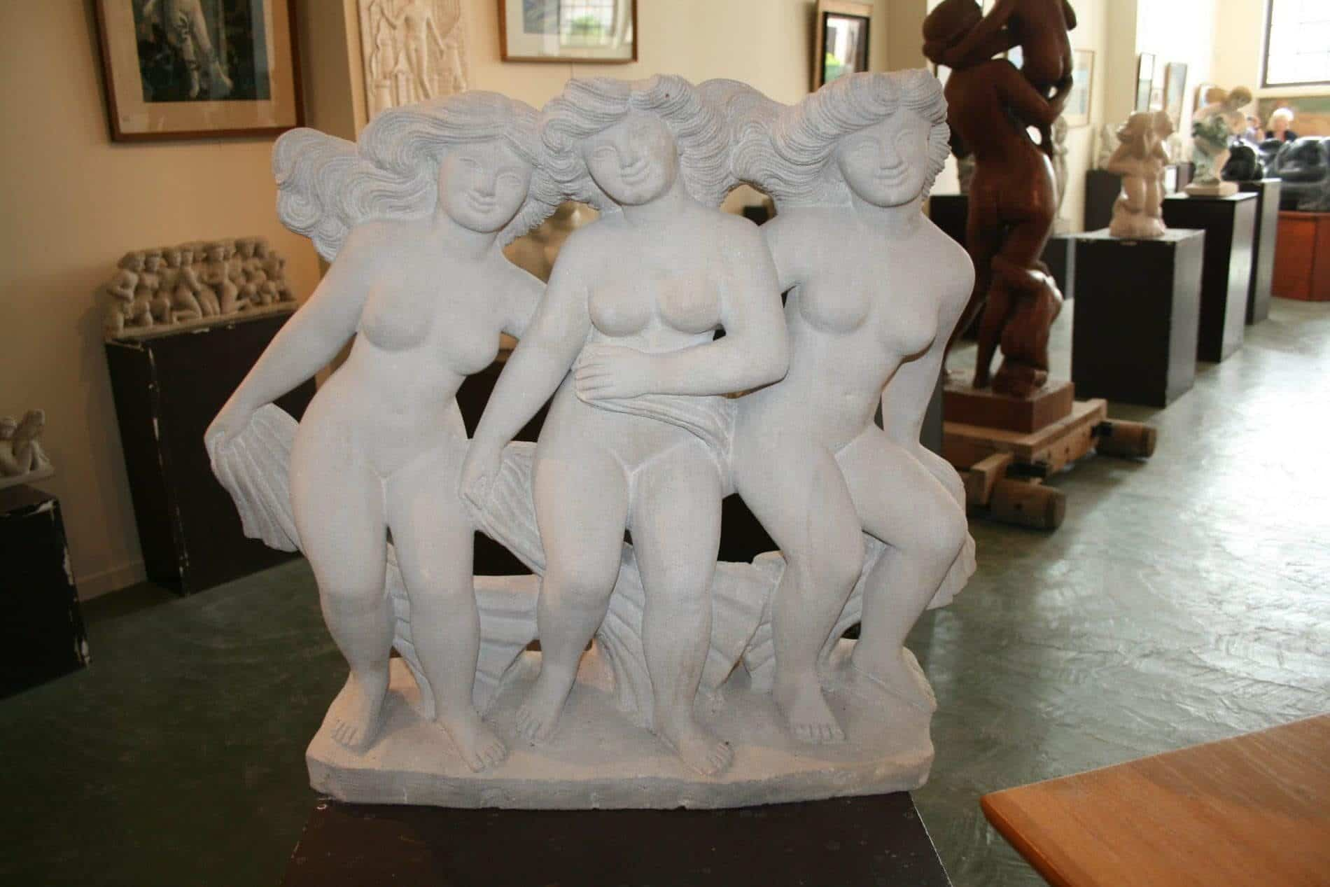 Sculpture Musée Deluol - Saint Michel en l'Herm
