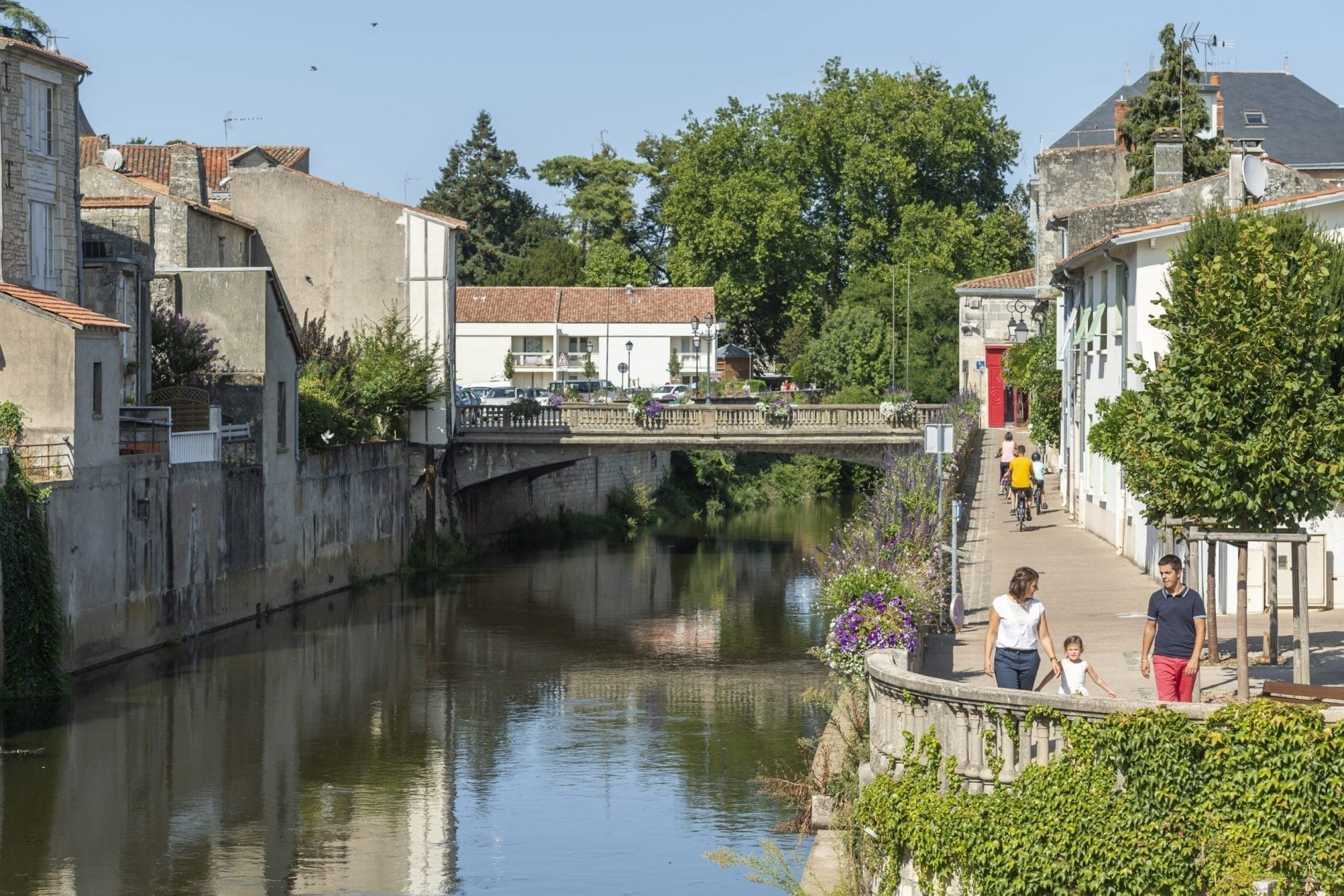 Fontenay le comte - riviere vendee ©J.Gazeau