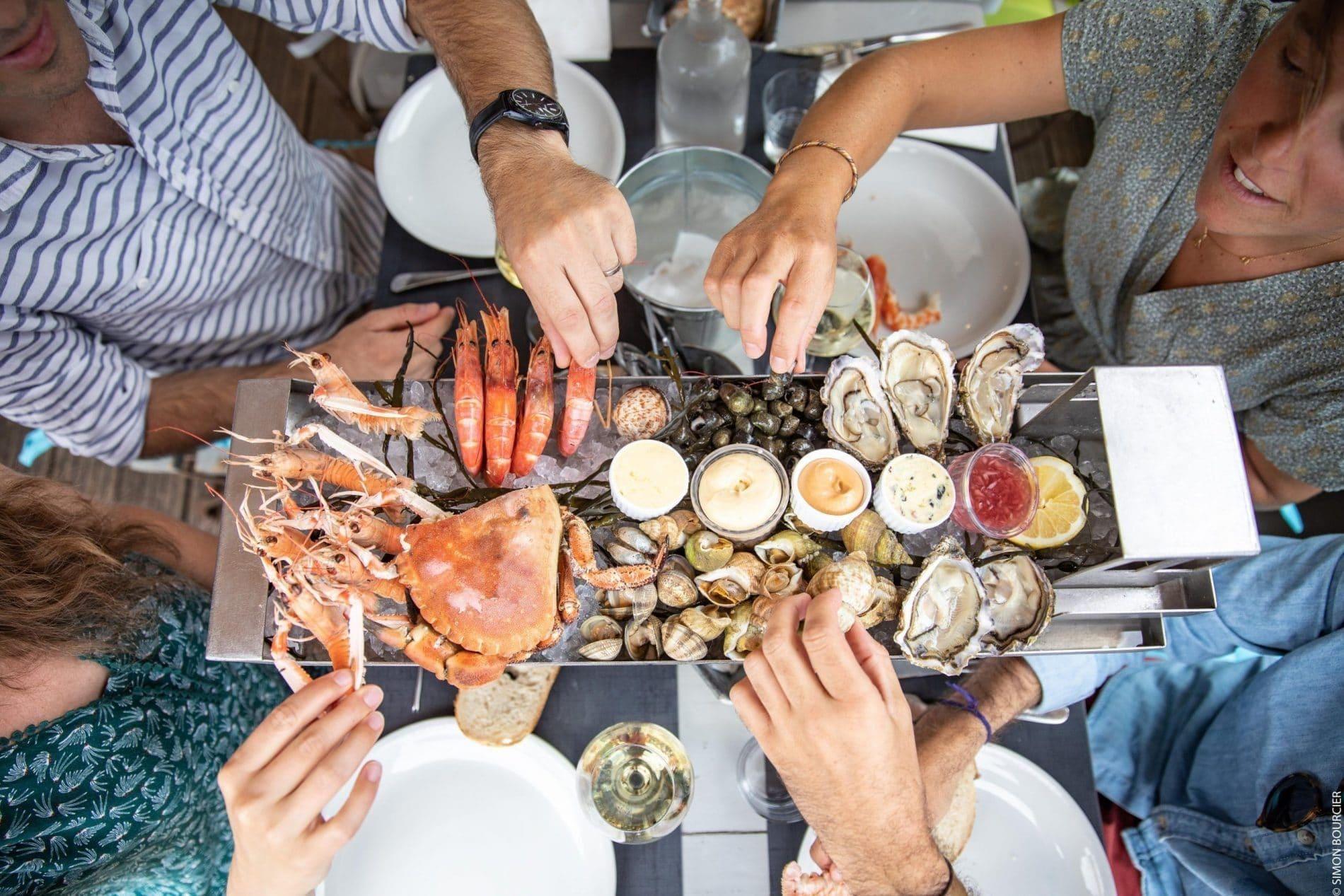 Restaurant - fruit de mer ©S.Bourcier