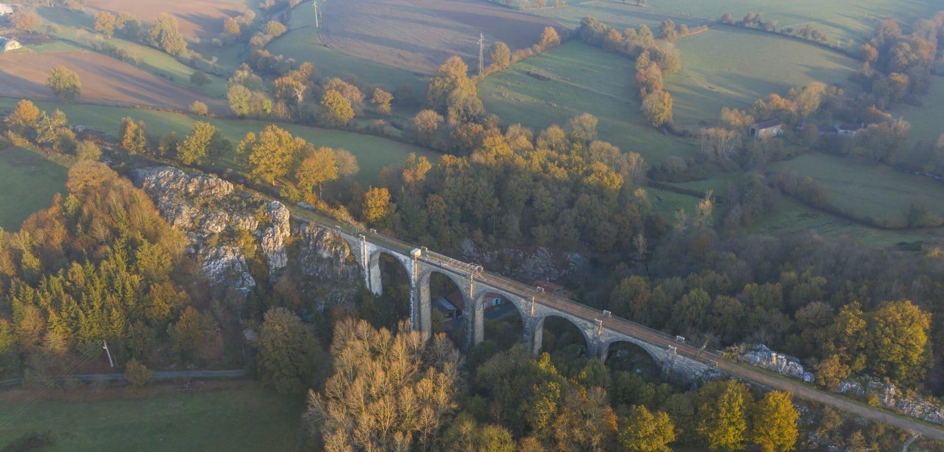 Viaduc de Coquilleau Breuil Barret © Vendeeexpansion_Julien Gazeau
