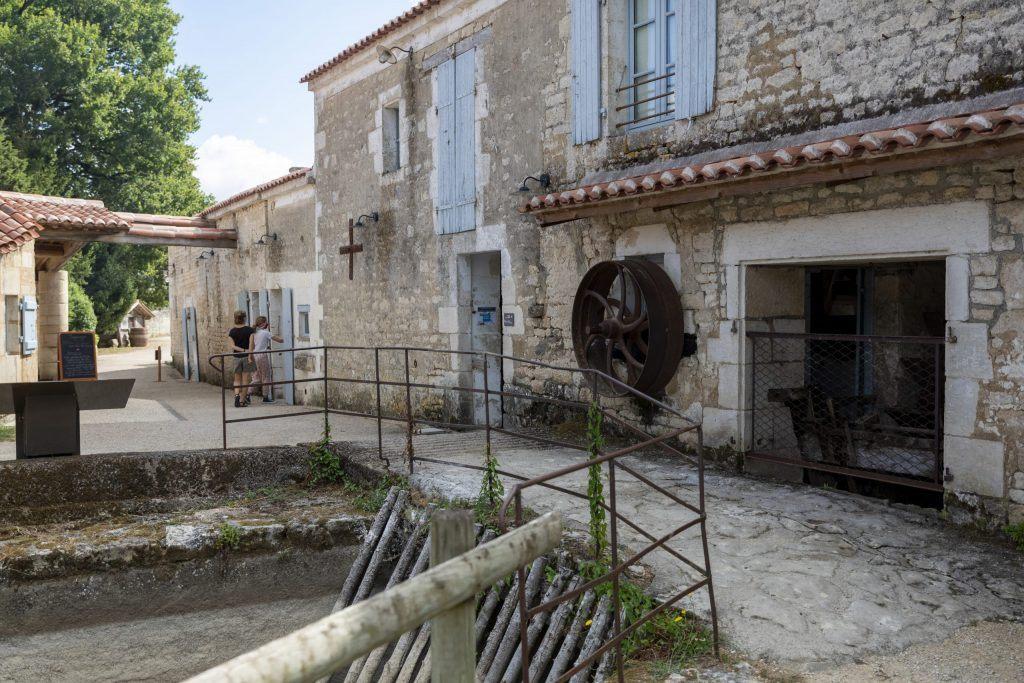 Le moulin à eau de Nieul sur l'Autise
