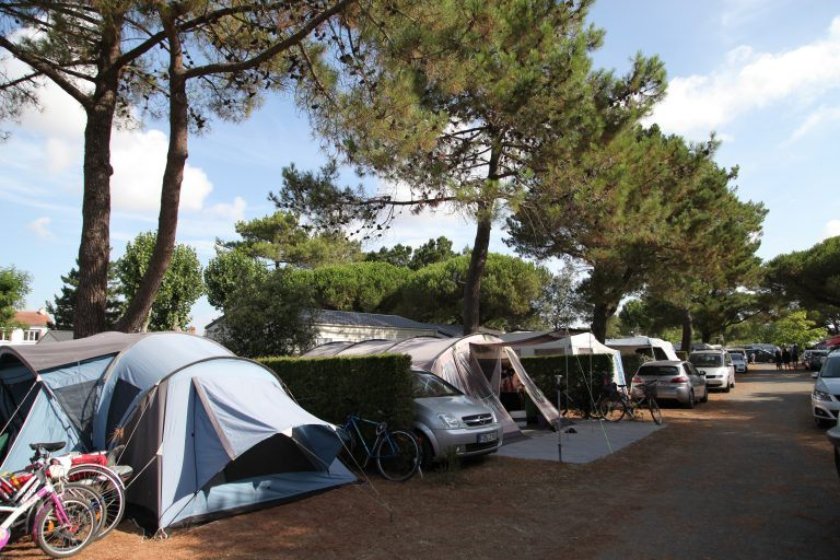 Emplacement ©Camping Baie d'Aunis