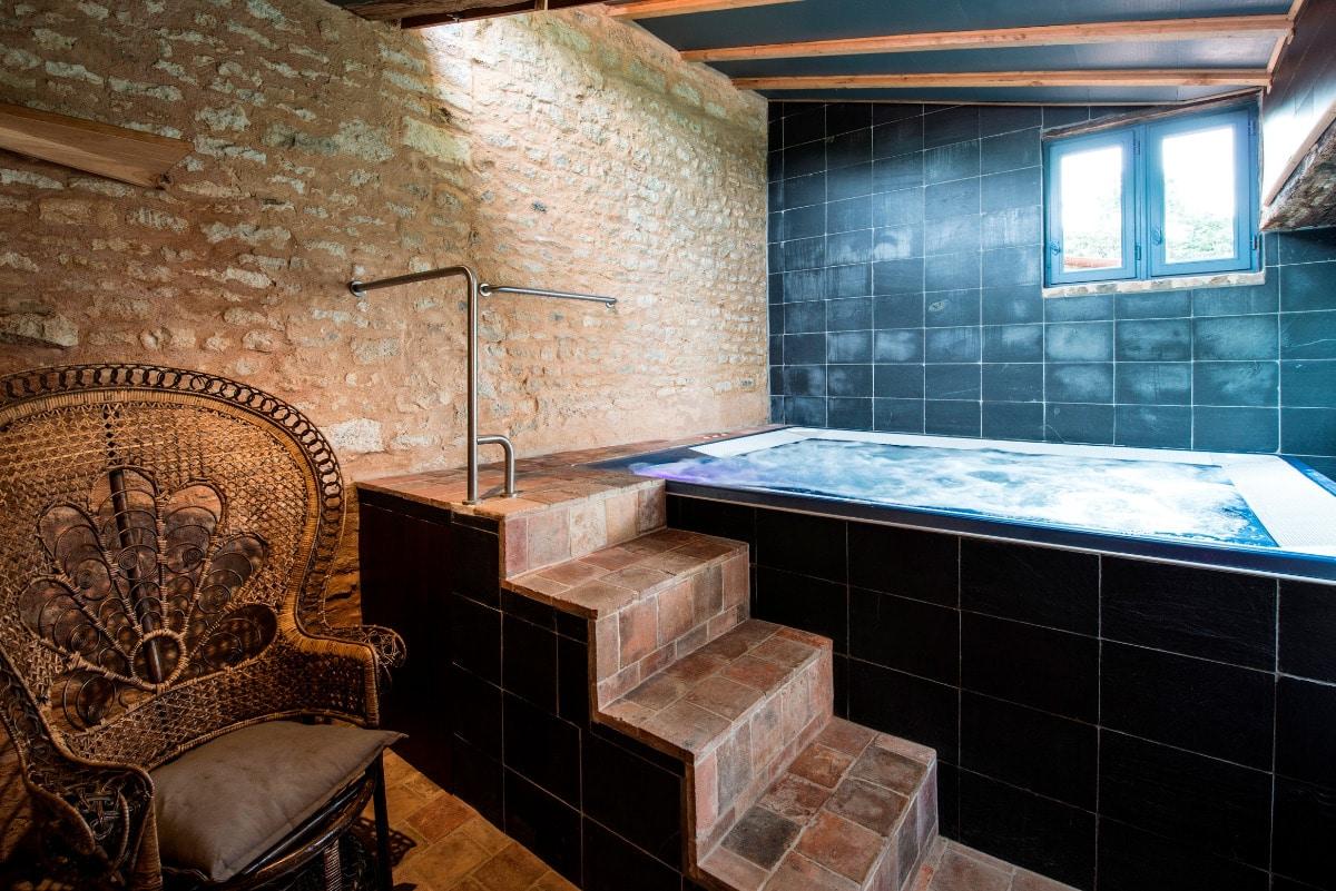 spa - chambre d'hôtes Moreilles