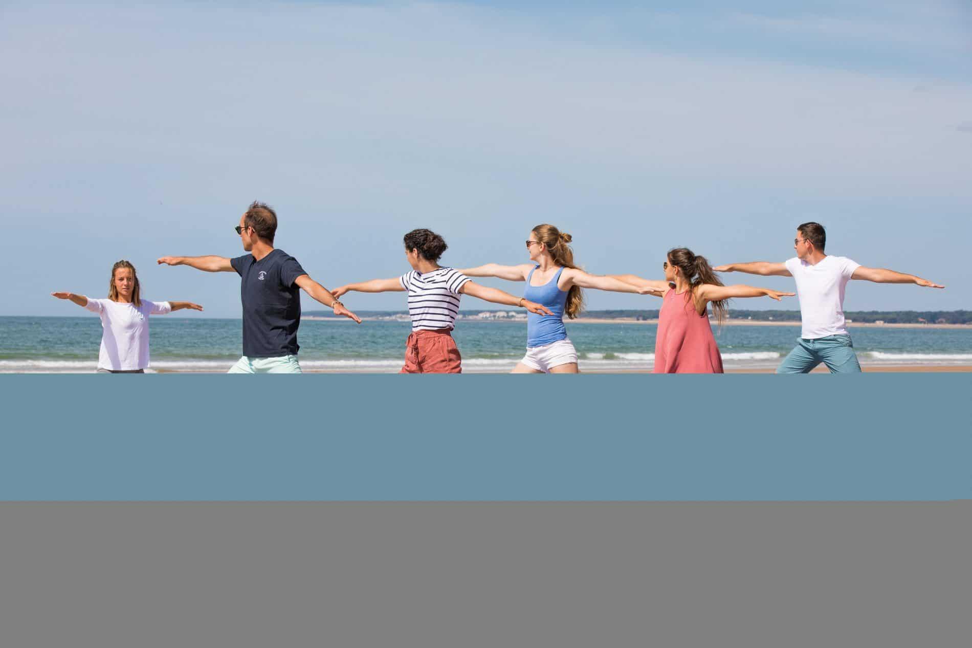 Yoga bord de mer ©S.Bourcier